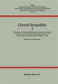 General Inequalities 2