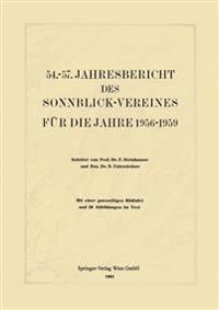 Jahresbericht des Sonnblick-Vereines für die Jahre 1956-1959