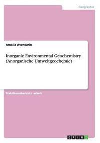 Inorganic Environmental Geochemistry(anorganische Umweltgeochemie)