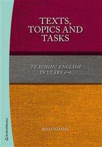 Texts, TopicsTasks