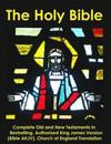 The Holy Bible: Complete Old and New Testaments in Bestselling Authorized King James Version (Bible Akjv), Church of England Translati
