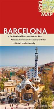 Barcelona EasyMap stadskarta : 1:13500
