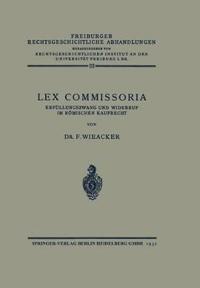 Lex Commissoria
