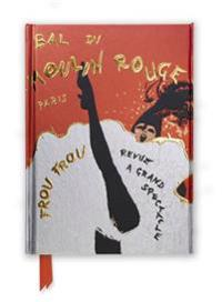 René Gruau Bal Du Moulin Rouge Foiled Journal