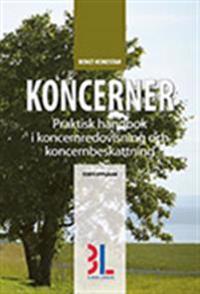 Koncerner : praktisk handbok i koncernredovisning och koncernbeskattning