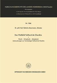 Das Weltbild Teilhard De Chardins