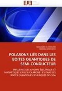 Polarons Lies Dans Les Boites Quantiques de Semi-Conducteur