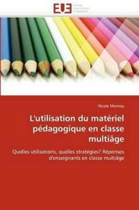 L'Utilisation Du Mat�riel P�dagogique En Classe Multi�ge