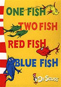 One fish, two fish, red fish, blue fish - blue back book