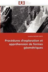 Proc�dures d'Exploration Et Appr�hension de Formes G�om�triques