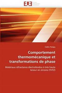 Comportement Thermom�canique Et Transformations de Phase