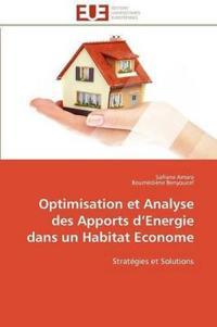 Optimisation Et Analyse Des Apports D Energie Dans Un Habitat Econome