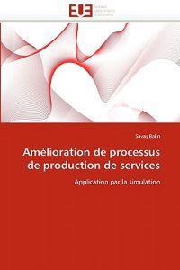 Am�lioration de Processus de Production de Services