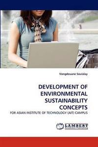 Development of Environmental Sustainability Concepts