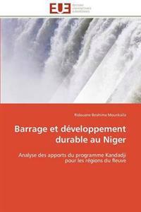 Barrage Et D�veloppement Durable Au Niger