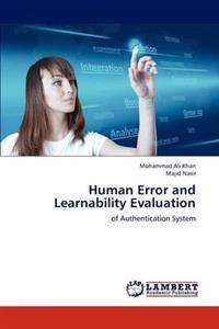 Human Error and Learnability Evaluation