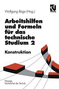 Arbeitshilfen Und Formeln Für Das Technische Studium