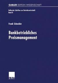 Bankbetriebliches Preismanagement
