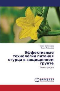 Effektivnye Tekhnologii Pitaniya Ogurtsa V Zashchishchennom Grunte
