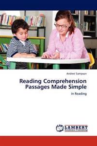 Reading Comprehension Passages Made Simple