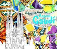 Colouring Book Antoni Gaudi
