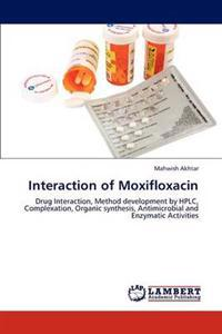 Interaction of Moxifloxacin