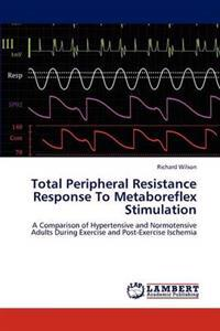 Total Peripheral Resistance Response to Metaboreflex Stimulation