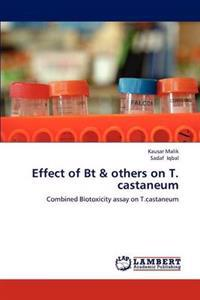 Effect of BT & Others on T. Castaneum