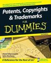 Patents, Copyrights & Trademarks for Dummies [With CDROM]