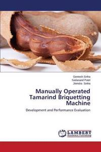 Manually Operated Tamarind Briquetting Machine