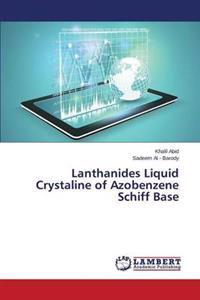 Lanthanides Liquid Crystaline of Azobenzene Schiff Base