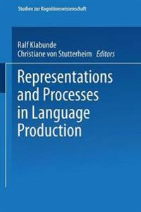 Representations and Processes in Language Production