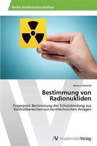 Bestimmung Von Radionukliden