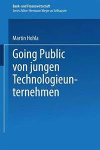 Going Public Von Jungen Technologieunternehmen