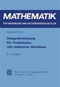 Integralrechnung F r Funktionen Mit Mehreren Variablen