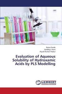 Evaluation of Aqueous Solubility of Hydroxamic Acids by Pls Modelling