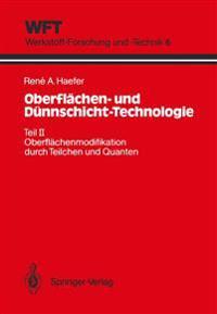 Oberflachen- Und Dunnschicht-Technologie