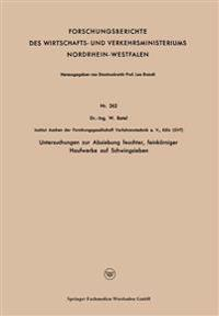 Untersuchungen Zur Absiebung Feuchter, Feinkörniger Haufwerke Auf Schwingsieben
