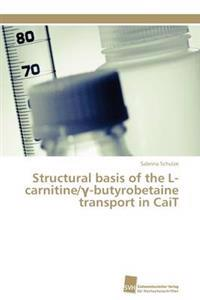 Structural Basis of the L-Carnitine/ -Butyrobetaine Transport in Cait
