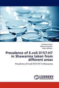 Prevalence of E.Coli 0157
