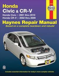 Haynes Repair Manual Honda Civic & CR-V