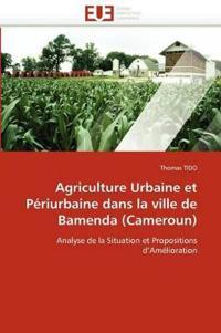 Agriculture Urbaine Et P�riurbaine Dans La Ville de Bamenda (Cameroun)