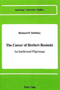 The Career of Herbert Rosinski