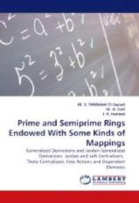 Prime and Semiprime Rings Endowed with Some Kinds of Mappings