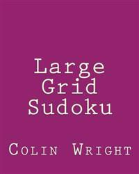 Large Grid Sudoku: Fun, Large Print Sudoku Puzzles