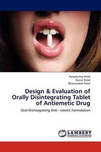 Design & Evaluation of Orally Disintegrating Tablet of Antiemetic Drug