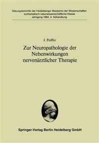 Zur Neuropathologie Der Nebenwirkungen Nerven�rztlicher Therapie
