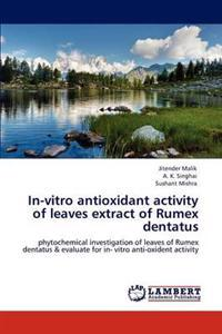 In-Vitro Antioxidant Activity of Leaves Extract of Rumex Dentatus