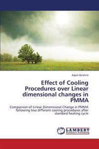 Effect of Cooling Procedures Over Linear Dimensional Changes in Pmma