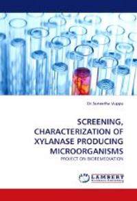 Screening, Characterization of Xylanase Producing Microorganisms